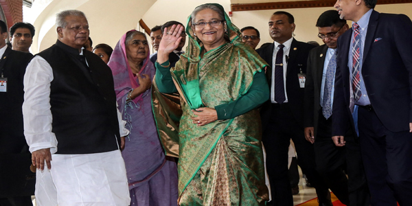Hasina off to Australia to join global women summit