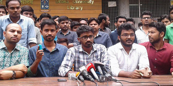 Students' ultimatum for publishing gazette on quota reforms