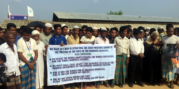 UN Security Council pledges to help Rohingya return