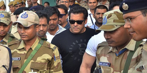 Salman Khan sentenced to five years in jail for shooting rare blackbuck