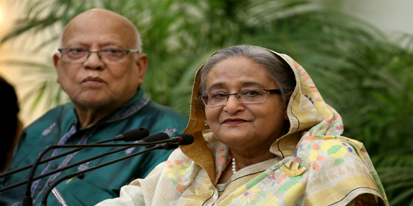 Hasina rules out any move to bring BNP to polls