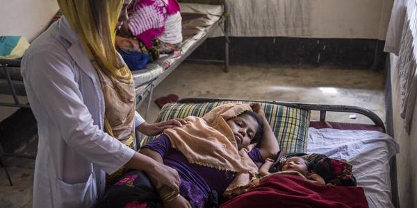 60 Rohingya babies born daily in Bangladesh refugee camps