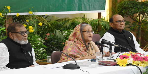 Quota movement tactful campaign against freedom fighters, says Hasina