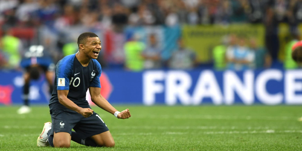 France win World Cup title after 20 years