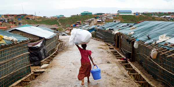 Rohingya refugees demand justice one year after crackdown