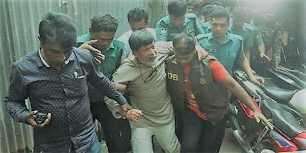 Detained photographer Alam sifted to hospital