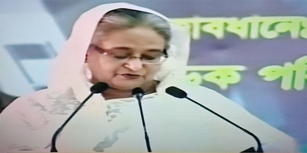 Hasina urges all to abide by traffic rules