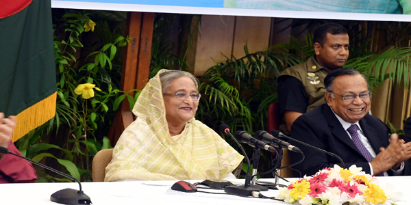 Foundation stone of 130km Bangladesh-India oil pipeline laid