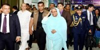Hasina returns home ending Saudi Arab visit