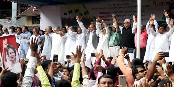 AL agrees to hold dialogue with Jatiya Okiya Front