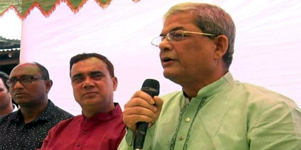 Fakhrul's motorcade attacked in Thakurgaon