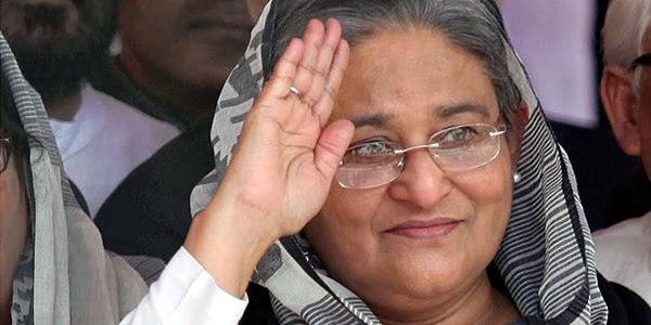 Hasina off to Brunei