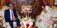 Hasina to swear in as Bangladesh's Prime Minister for fourth time Monday