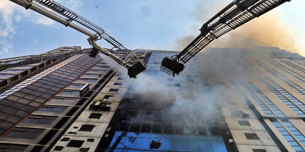 Bangladesh high-rise fire kills 19