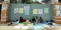 Students continue hunger strike to demand fresh DUCSU election