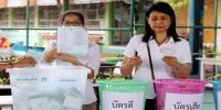 Thailand votes in first election after 2014 coup