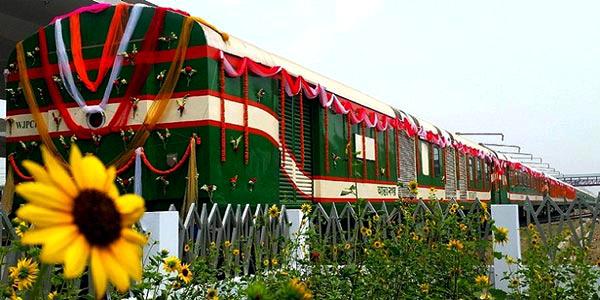 Dhaka-Rajshahi non-stop Bonolota Express inaugurated