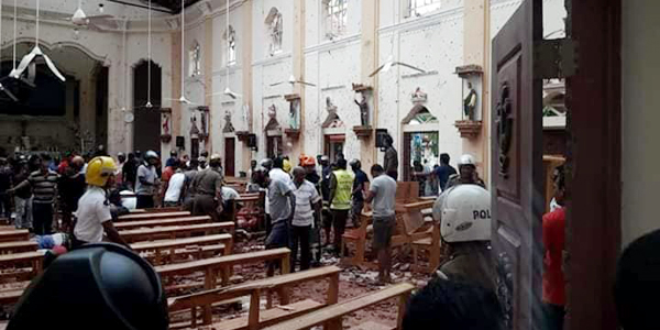 At least 50 dead in series of blasts in Sri Lanka churches, hotels