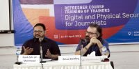 Journalists need to be cautious about digital hazards