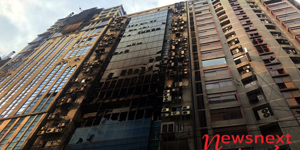 Hasina issues fire safety directives after deadly high-rise blaze