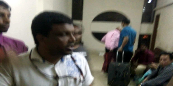 Railway man harassed Daily Sun consulting editor