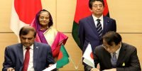 Bangladesh signs deal for 2.5 billion dollar Japanese assistance
