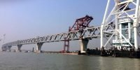 Nearly 2 kilometers of Padma Bridge visible