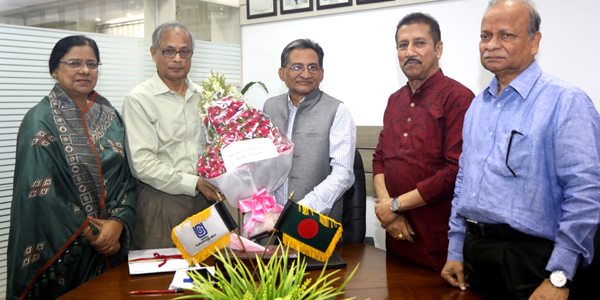 Professor Shahidullah joins as 13th UGC Chairman