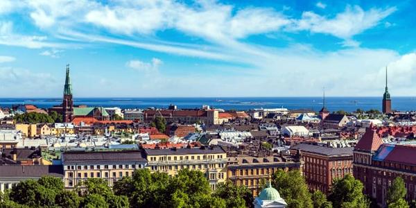 Hasina lands in Helsinki