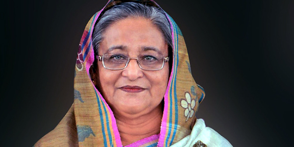 Hasina returns home from London Thursday