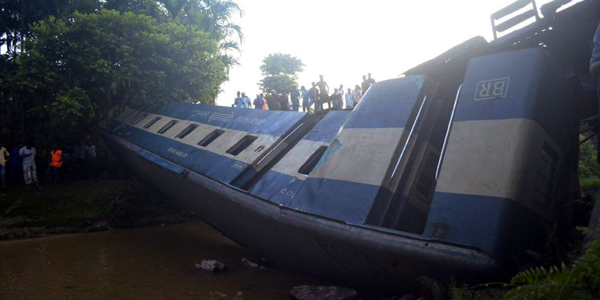 Train accident kills four, injures dozens others in Bangladesh