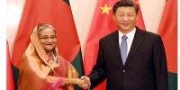 Hasina returns home ending China visit