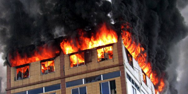 Fire guts electronics factory warehouse in Gazipur