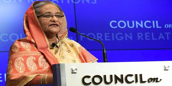 Hasina urges world leaders to compel Myanmar for Rohingya return