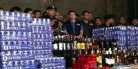 Liquor, beers confiscated at Fu Wang club