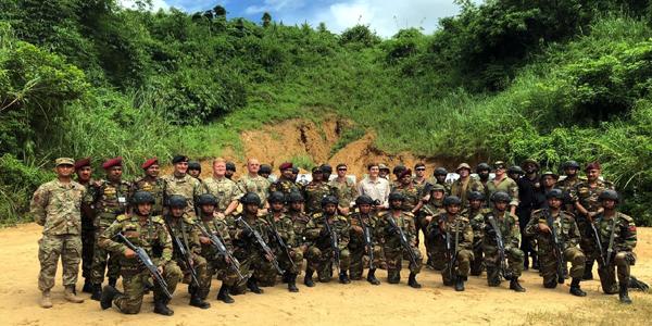 Miller witnesses US-Bangladesh joint military exercise in Sylhet