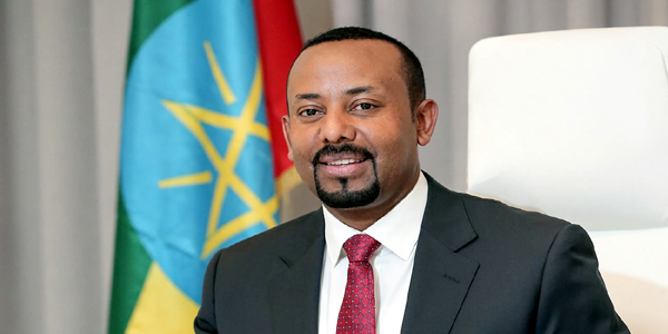 Abiy Ahmed 2019 Nobel Peace Prize winner