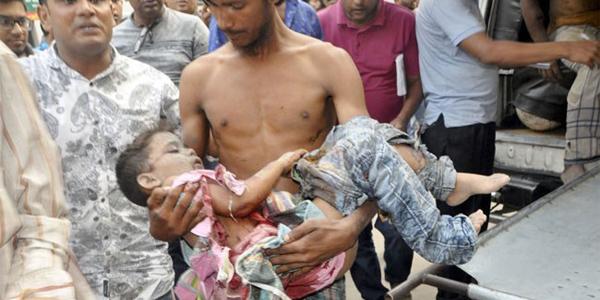 Six children killed in gas cylinder blast in Dhaka