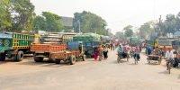 Transport strike causes passengers' suffering