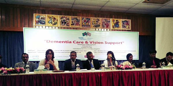 Workshop on dementia and vision support organised in Rangpur