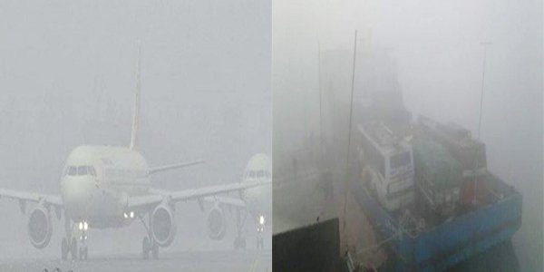 Fog: two killed in ferry accident, flights suspended for 6 hours in Bangladesh