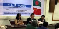 "Chinese envoy terms Rohingya crisis ""a quarrel between two neighbours"""