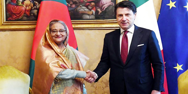 Bangladesh seeks Italy's support for Rohingya return
