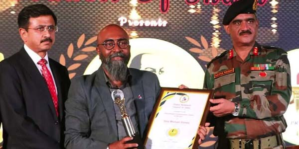 Tony Michael Gomes wins Chanakya Award