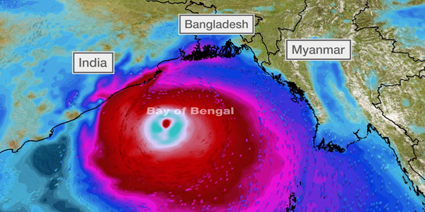 Cyclone Amphan intensifies as it heads for Bangladesh