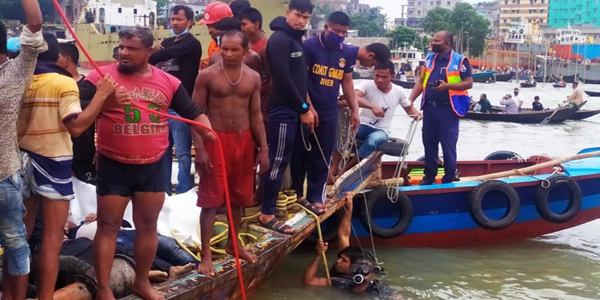 Bangladesh ferry disaster death toll rises to 33