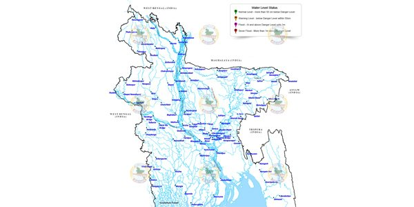 Bangladesh's flooding affects nearly 1.5 million people