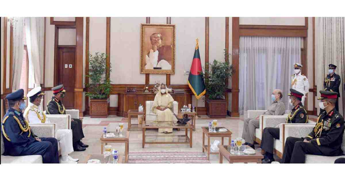 Bangladesh Armed Forces being rebuilt: PM