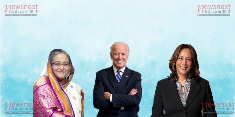 Come and experience Bangladesh: PM to Biden, Harris