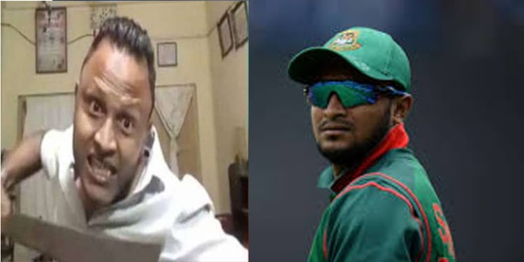 Man arrested for threatening Bangladesh's cricket star Shakib